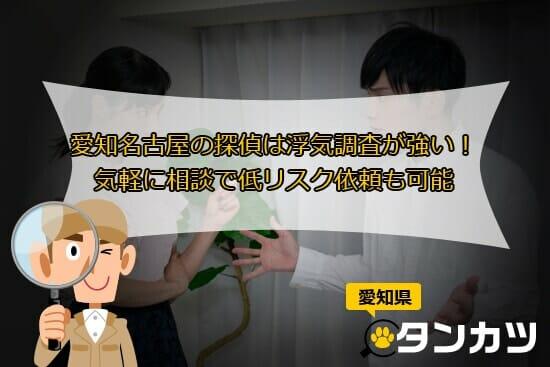 尾張名古屋は城で持つ!愛知・名古屋エリアの探偵は浮気調査が強い!