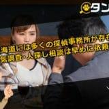 雄大な北海道でも探偵事務所は多く存在!浮気調査とか人探しにはやはり探偵を!